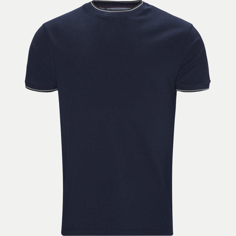 CROIX - Croix Crewneck T-shirt - T-shirts - Regular - NAVY MEL - 1